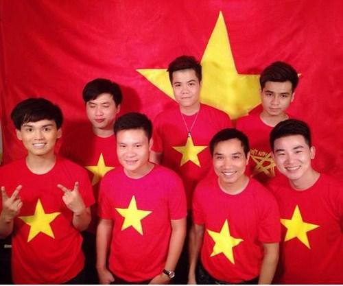 Áo cờ đỏ sao vàng 003