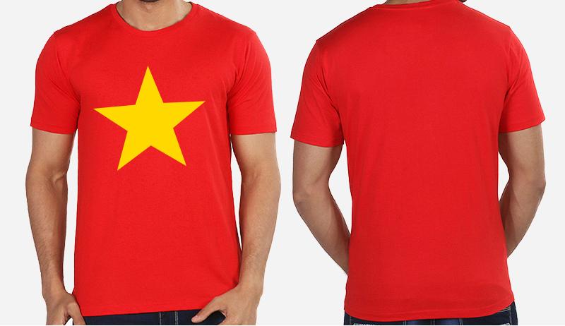 Áo cờ đỏ sao vàng 002