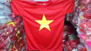 áo cờ đỏ sao vàng giá rẻ
