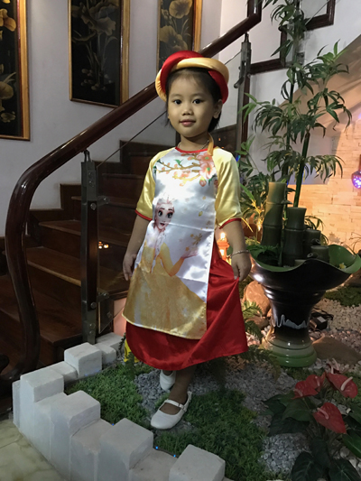 Váy đầm công chúa elsa